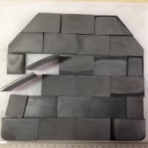 Quality Ballistic Tiles NIJ III high level bullet proof panel ballistic plate single-curve pure Armored UHMWPE plate for sale