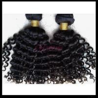 China Homeage Tiny Curly African American Human Hair Extensions on sale
