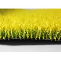 Playground Coloured Artificial Turf  Fake Grass Mats With SBR Latex Coating Manufactures