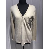 Women'S Classic Cardigan Sweaters , Lightweight Cashmere Sweater Loose Fitting Manufactures