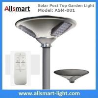 New 15W 1500lm UFO Solar Garden Lights All In One Parking Lot Lamp Solar Energy Products With 30W Solar Panel Aluminum Manufactures