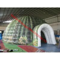 Inflatable projection tent portable planetarium inflatable dome tent inflatable igloo tent Manufactures