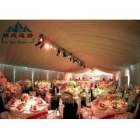 Marquee Gazebo Wedding Event Tents With Sandwich Panel And Wall Curtain Manufactures