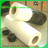 Wholesale 40gsm 45gsm 50gsm 55gsm Printable PVC self adhesive paper for print plotters Manufactures