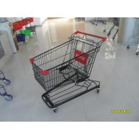 941 X 562 X 1001mm Supermarket Shopping Trolley With 4 Swivel Flat Casters Manufactures
