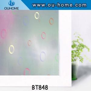 China BT848 Printing frosting Glass decorative window film on sale