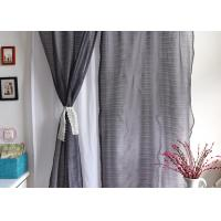 Elegant Multiple Colors Modern Window Curtains Lightweight Fabric For Living Room Manufactures