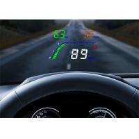 "High - Definition 4 "" Obd2 Heads Up Display T100 OBD2 Interface High Temperature Alarm Manufactures"