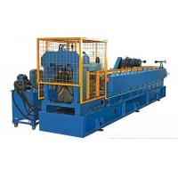 Color Steel Vaulting Cap Roll Forming Machine For Metal Roof Ridge Tile Separated Water Easily Automated Operate Manufactures