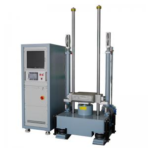 1900KG 380V 50HZ Half Sine Shock Test Equipment With Safety Protection Systems Manufactures