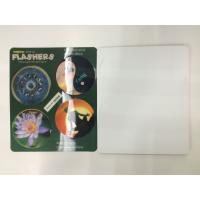 Flip Effct 3D 0.6 MM PET Custom 3D Lenticular Stickers With CMYK Printing Manufactures