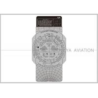 Plastic Aviation Flight Computer Wheel E6B Plotter with Cardboard for Classroom Pilot Students Cya Brand Manufactures