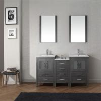 China House Furniture Custom Bathroom Vanity Cabinets Paint Surface Including Basin / Faucet on sale