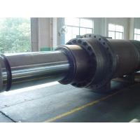 Quality 1500mm Custom Aluminum Hydraulic Hoist Cylinder With Small Air Viscosity for sale