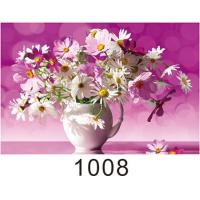 0.6mm PET+157g Coated Paper 3D Lenticular Pictures With 40*60cm Size Manufactures