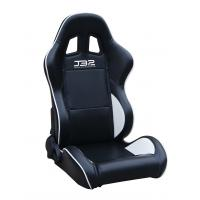 Black / White Custom Racing Seats Fully Reclinable 89 * 69 * 55 cm Manufactures