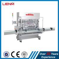 Automatic Shower Gel Hair Conditioner Fabric Conditioner Filling Capping Machine Packing Line Straight Line Piston Fill Manufactures