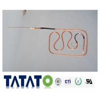 Refrigeration Copper Tubing Pipe Fittings / Suction Connecting Tube ROHS Manufactures