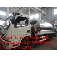 Quality Dongfeng Furuka 3000L asphalt tank truck for sale, small bitumen tank spraying truck for sale for sale