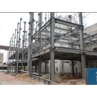 PVC Down Pipe High Rise Building Structures Grey Paint Surface Manufactures