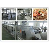 Buy cheap Automatic PLC control Non Fried Instant Noodle production line or instant pasta from wholesalers