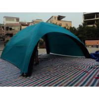 White / Blue Inflatable Air Tent 420D Oxford Customized Inflatable Airtight Tent Manufactures