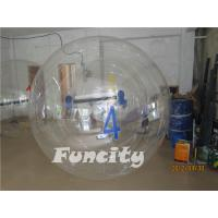 OEM PVC or 0.8MM TPU Transparent Inflatable Water Walking Ball  with Numbers Manufactures