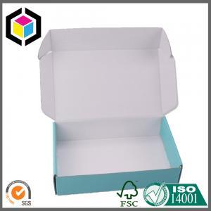 Quality Inside White Custom CMYK Full Color Offset Print Paper Corrugated Box for for sale
