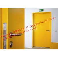 Buy cheap European Standards Steel Fire Resistant Single Door For Household or Office Use from wholesalers