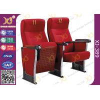 Buy cheap Anti Stained PU Molded Foam Auditorium Furniture Foldable Audience Seating from wholesalers