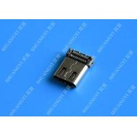 Compact Female Mobile Phone Micro USB Connector 3.1 Type C SATA Sync Charge Manufactures