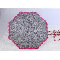 Aluminum Alloy Strong Windproof Folding Umbrella Ultra Light Lace Parasol Umbrella Manufactures