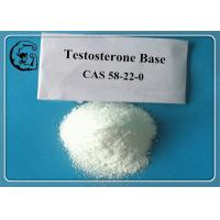 Anabolic Raw Steroid Powder Source Pure Testosterone Base Weight Loss CAS 58-22-0 Manufactures