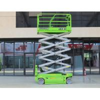 Electric working height 14m with 320kg capacity hydraulic scissor lift for maintenance Manufactures