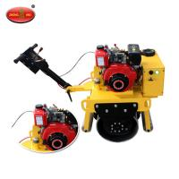 High Quality ZM-700 Walking Type Single Drum Vibratory Road Roller With HONDA GX390 Engine Manufactures