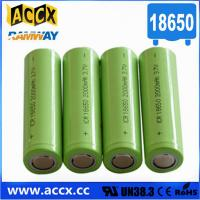 lithium battery 18650 2000mAh Manufactures