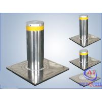 China Custom Manual Hydraulic Security Bollards , Stainless Steel Automatic Road Blocker on sale