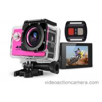 Waterproof Shockproof Sports Action Camera 1920*1080p , Bike Helmet Camera Manufactures