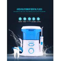 CE RoHS Approved Cordless Water Jet Flosser , 360 Degree Water Pressure Teeth Cleaner Manufactures