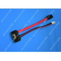 Anti - Static Shielded SATA HDD Power Cable Male To Male Extension Lightweight Manufactures