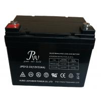 Deep Cycle Lead Acid UPS Rechargeable Battery 12v 33ah Non Spillable Manufactures