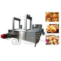 Continuous Fryer Machine  Industrial French Fries Fryer  Material: Peanut,chips,french fries,beans,namkeen Manufactures