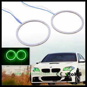 12V-30V 2x BMW Style White 140mm 168leds SMD Led Car Angel Eyes Halo Ring Light Manufactures