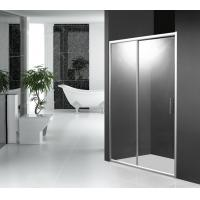 Quality 2 Panel 1200mm Sliding Shower Door 1900mm Height with Aluminum Alloy Frame for sale