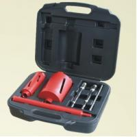Fast Drilling Speed Diamond Core Bit Set High Work Efficiency With Light Steel Bar Manufactures