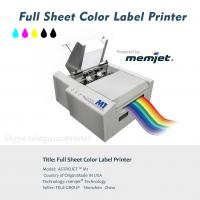 China Full Sheet Color Label Printer, Inkjet, Power by Memjet ,Astro M1,Variabel Data Printing on sale