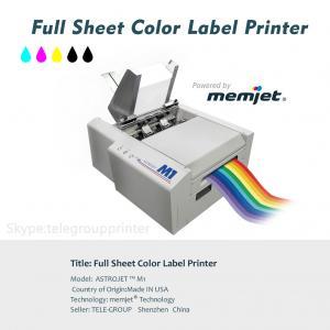 China Full Sheet Color Label Printer, Inkjet, Power by Memjet ,Astro M1,Variabel Data Printing on sale