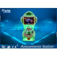 Quality Kids Deformation Car Arcade Driving Simulator / Coin Operated Game Machine for sale