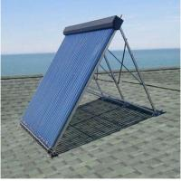 Aluminum alloy manifold heat pipe solar thermal collector Manufactures