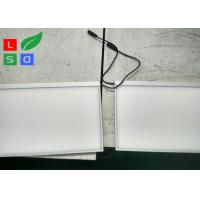 Quality Frameless View LED Flat Panel Light 10mm Thickness For Showcase And Wall for sale